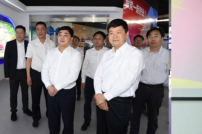 蘇州市委常委、組織部部長陸新一行調研永鼎