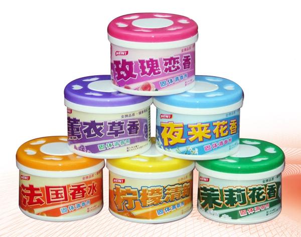 金盾固體清香劑90g(檸檬、茉莉、夜來香、薰衣草、玫瑰、法國香水、桂花)