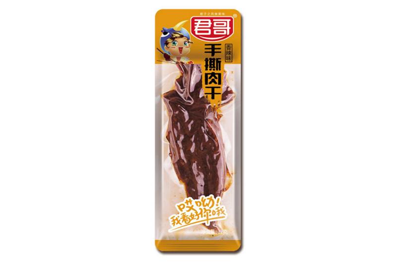 香辣味手撕牛肉12g