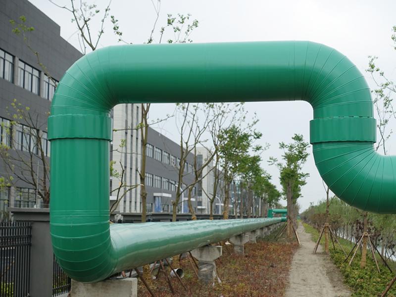 蘇通園區蒸汽管道工程