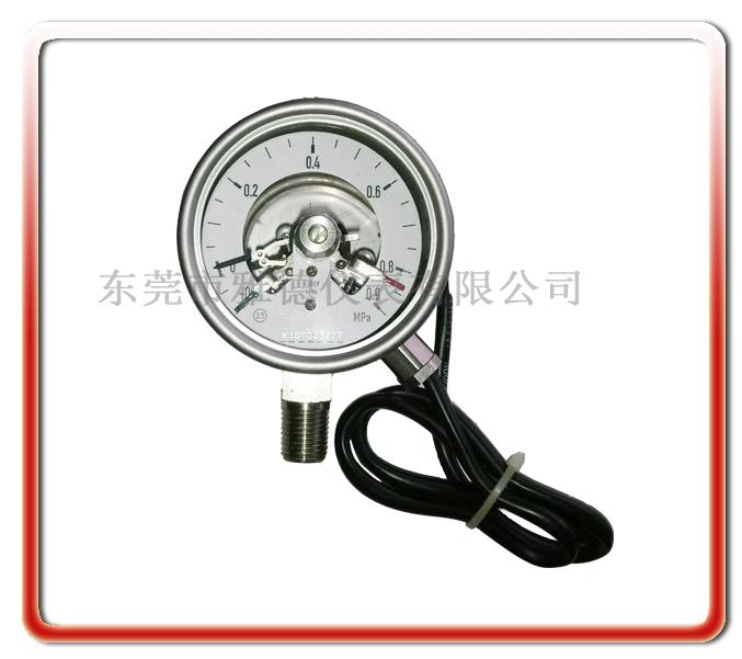 68MM徑向全鋼電接點壓力表