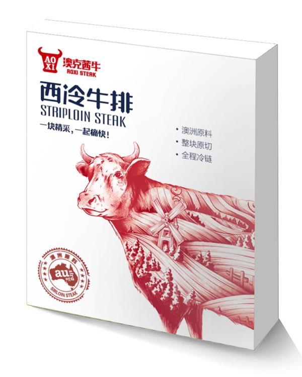 西冷牛排—盒裝