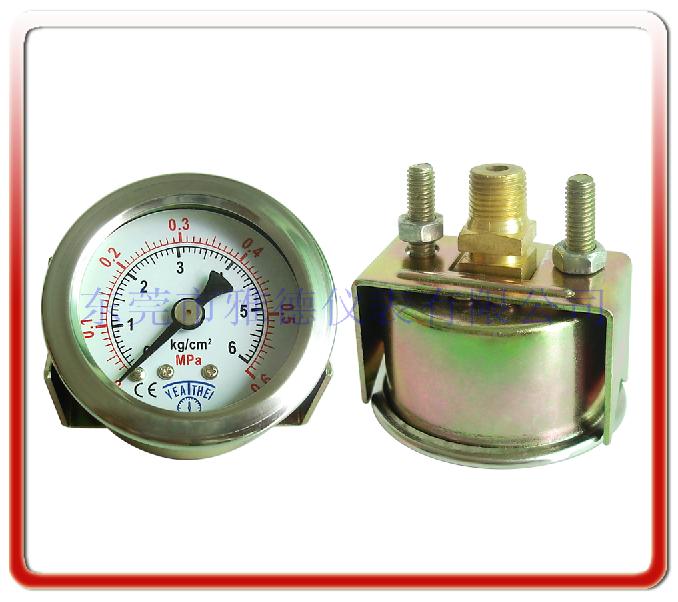 40MM軸向帶支架氣壓表