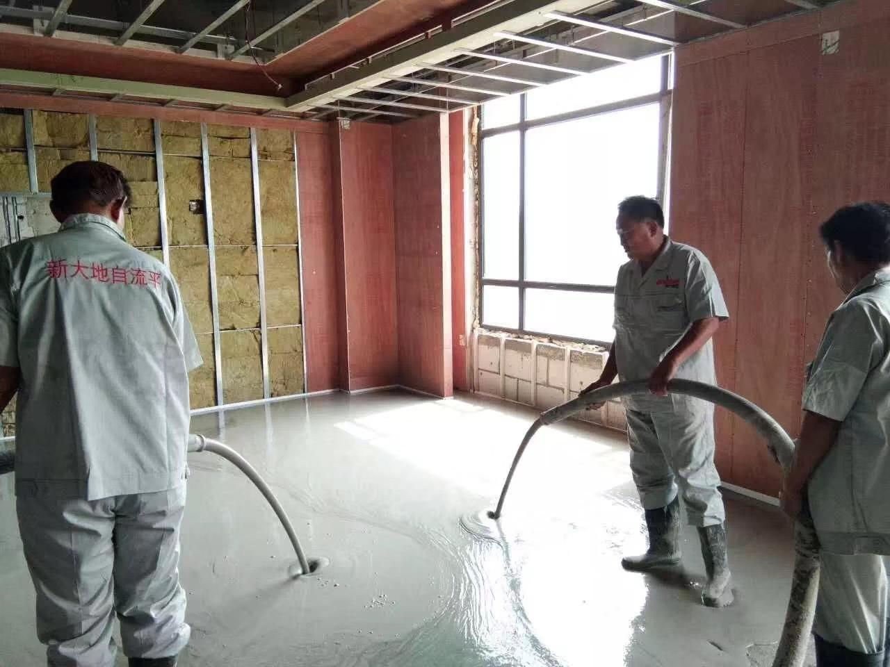 厚層自流平水泥砂漿在現代建筑行業的優勢