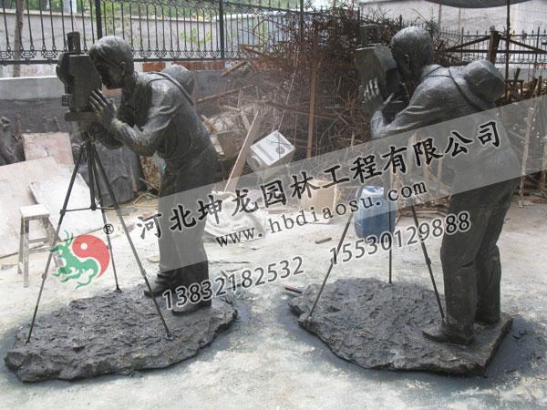 玻璃鋼人物雕塑028