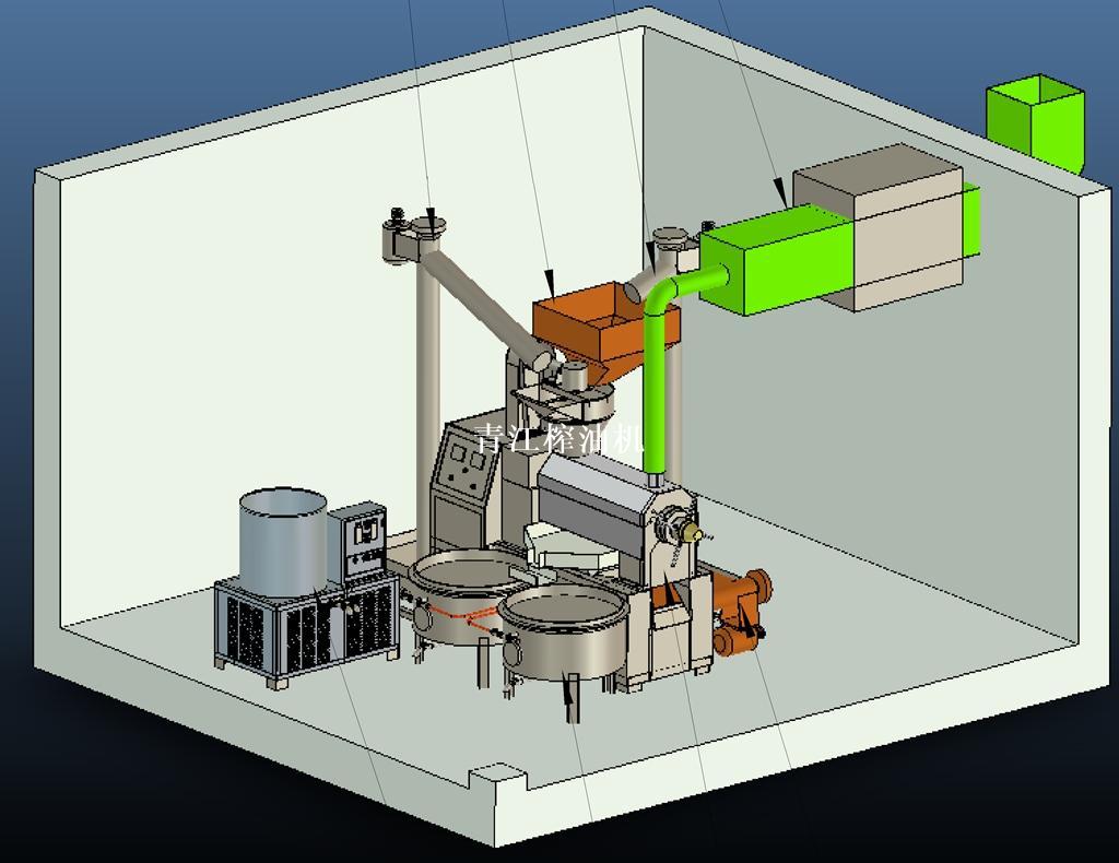 常溫壓榨環保成套設備(一)