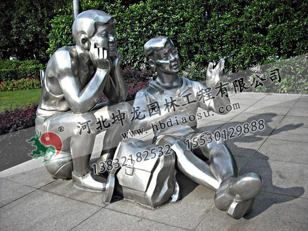 人物不銹鋼雕塑022