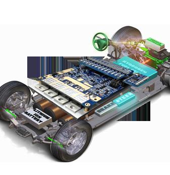 72V動力電池管理系統BMS