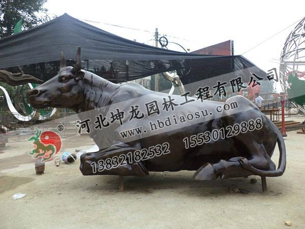 動物銅雕029