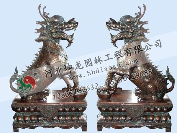 動物銅雕021
