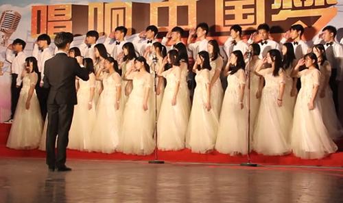 睿升學子參加合唱比賽榮獲第一名!