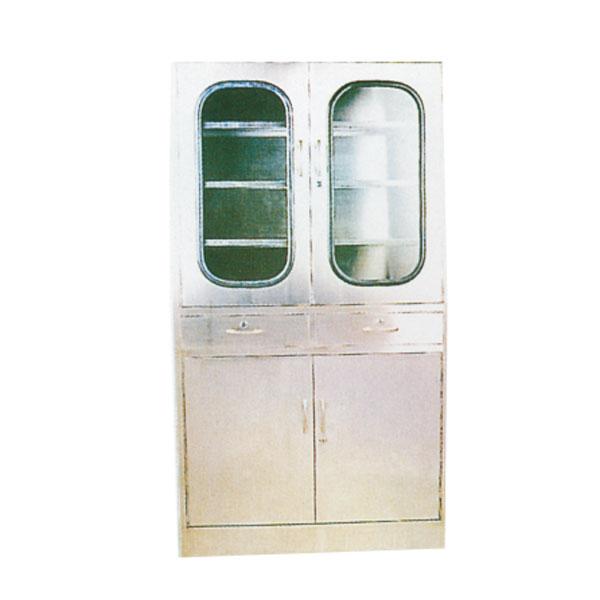 不銹鋼四門六層器械柜