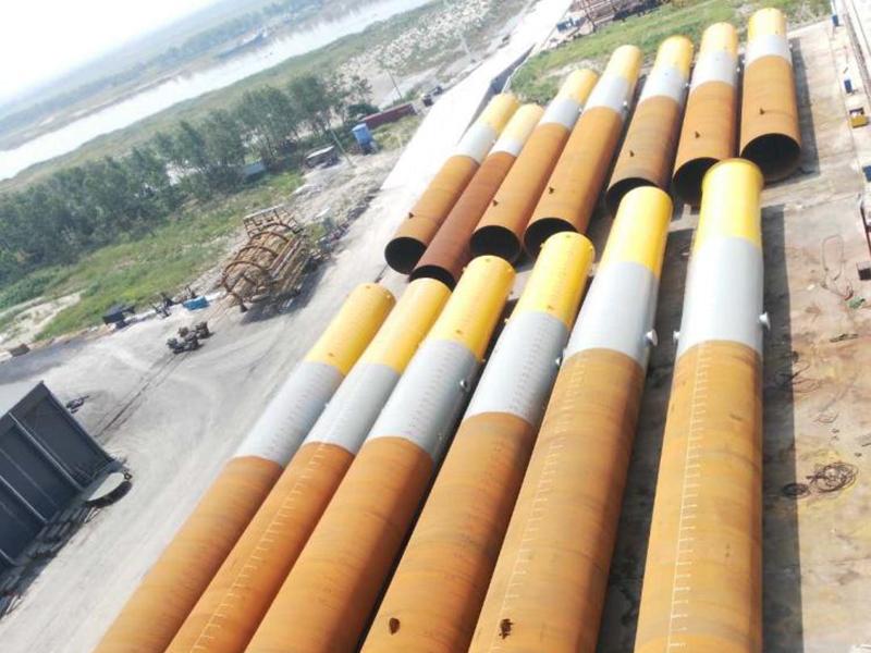 國電投大豐H3#300MW海上風電單樁項目