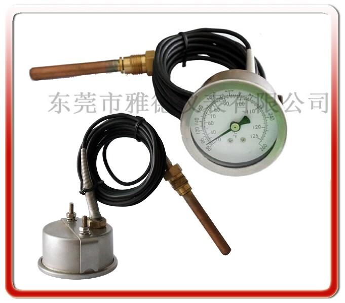 50MM帶軟管壓力式溫度計