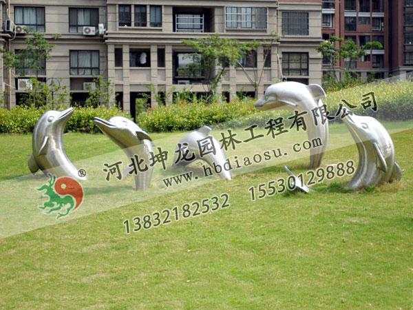 動物不銹鋼雕塑041