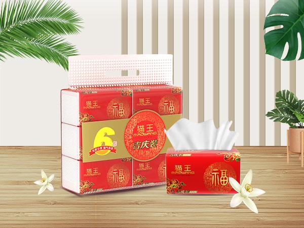 吉慶平紋400張軟抽   (M-98)