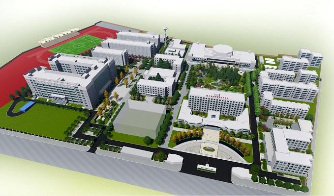 陕西财经职业技术学院校园环境提升工程规划设计