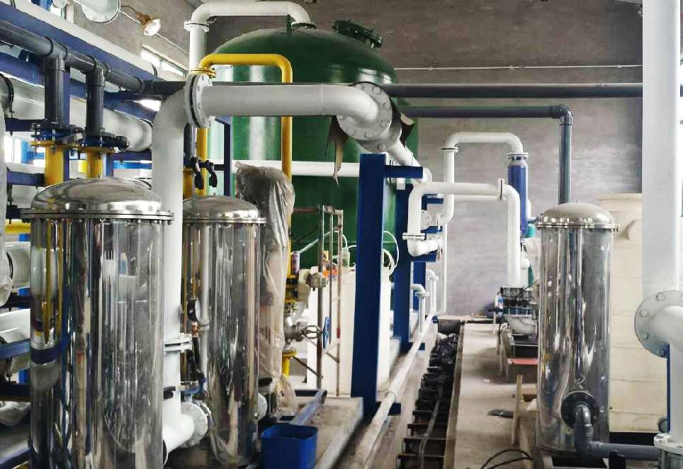 山西順安煤化工項目-50t/h 反滲透設備