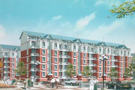 曹妃甸國際生態城起步區內房地產項目:占地1330畝,預計開發130萬平米商業地產及住宅