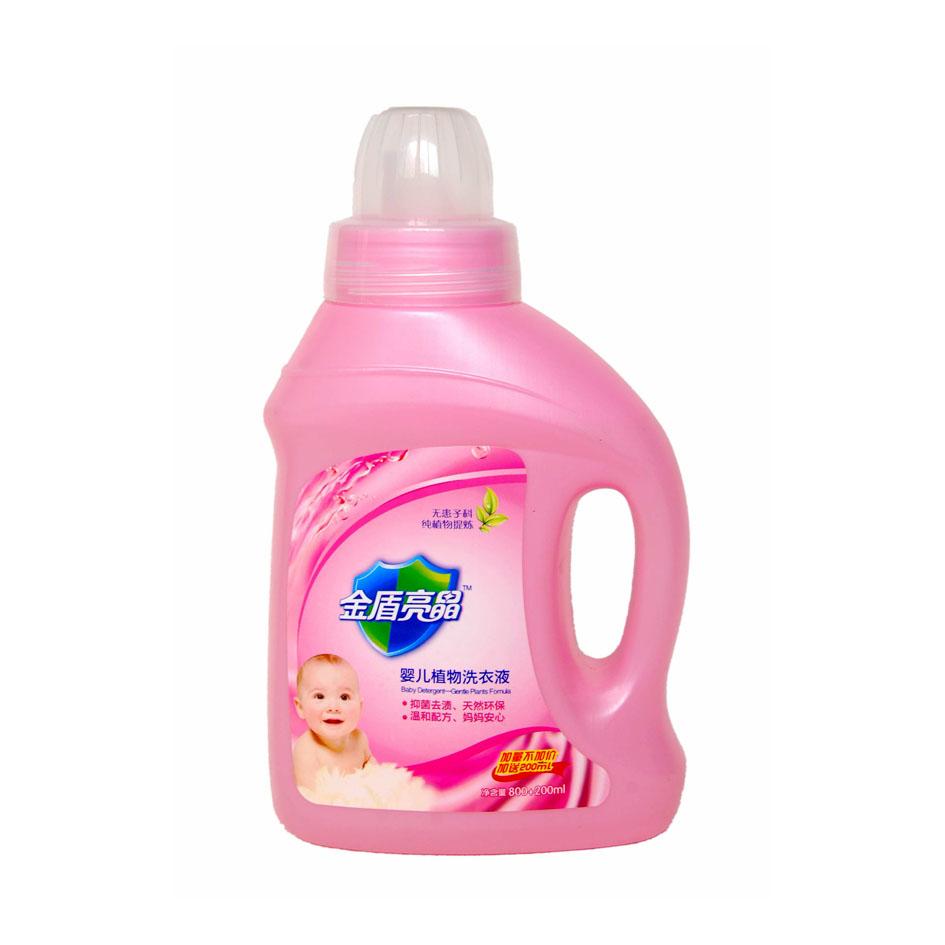 金盾亮晶 嬰兒洗衣液800ml.抑菌