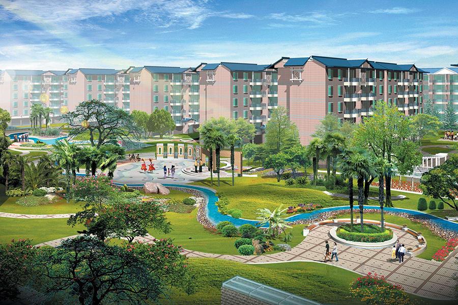 吉泰苑保障性住房項目小區內部配電工程