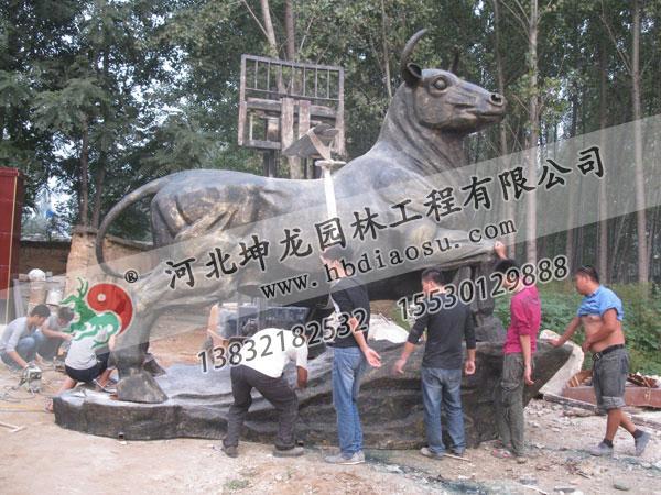 玻璃鋼動物雕塑038