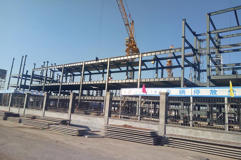 裝配式鋼結構學校工程