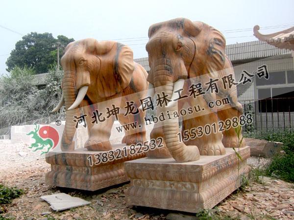 動物石雕027
