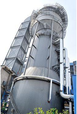 山東宏達電廠440t/h脫硫濕電工程