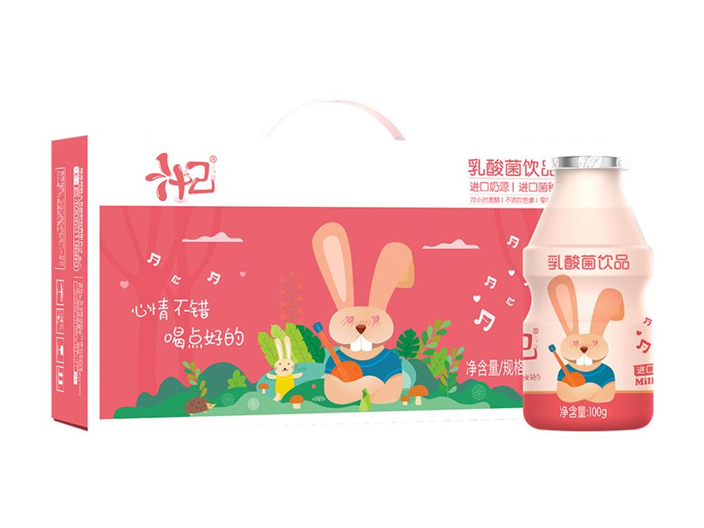 汁己兔小滿乳酸菌飲品100ml*24瓶