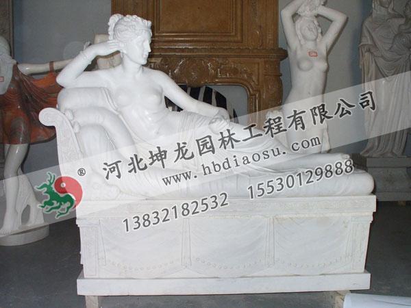 人物石雕095
