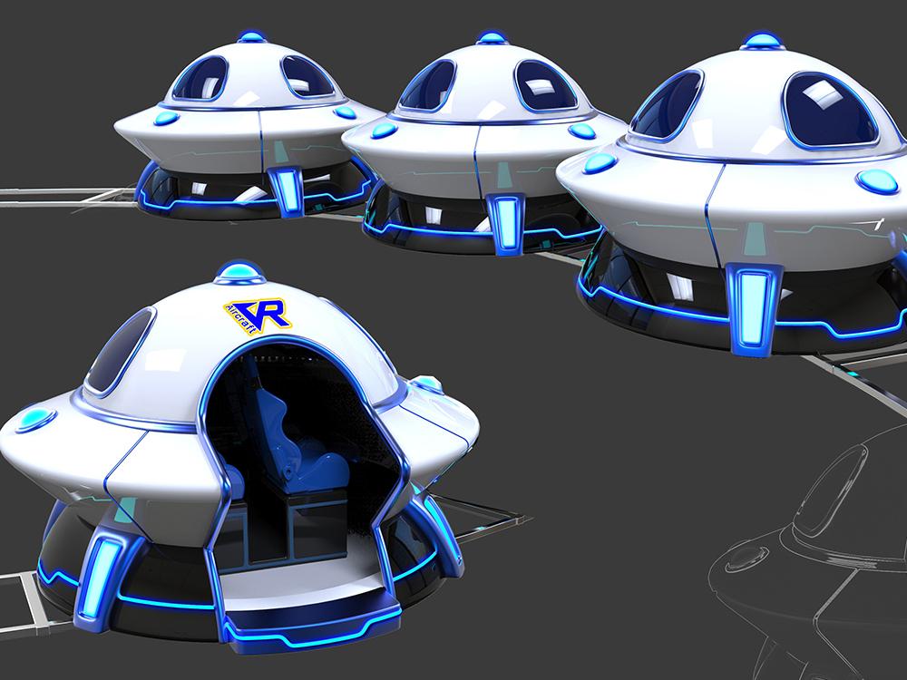 VR太空轨道车