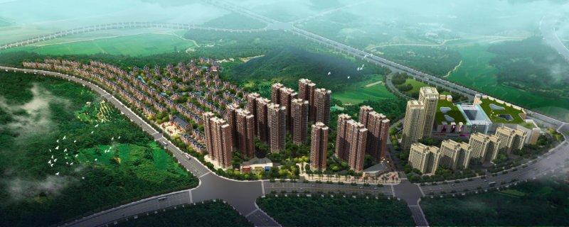 湖南長沙國中新城效果圖 (2)