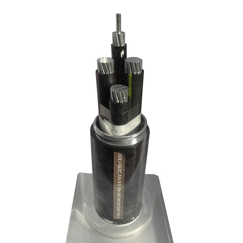 鋁合金電纜 YJHLV82(ACWU90-40) 0.6/1kV 3X95+1X50