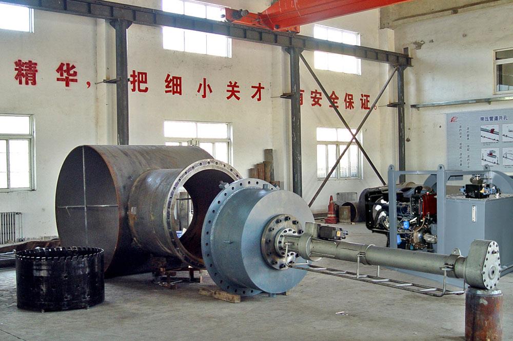 YZ1000-2000液壓鉆孔機