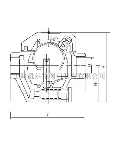 半自由浮球式蒸汽疏水閥