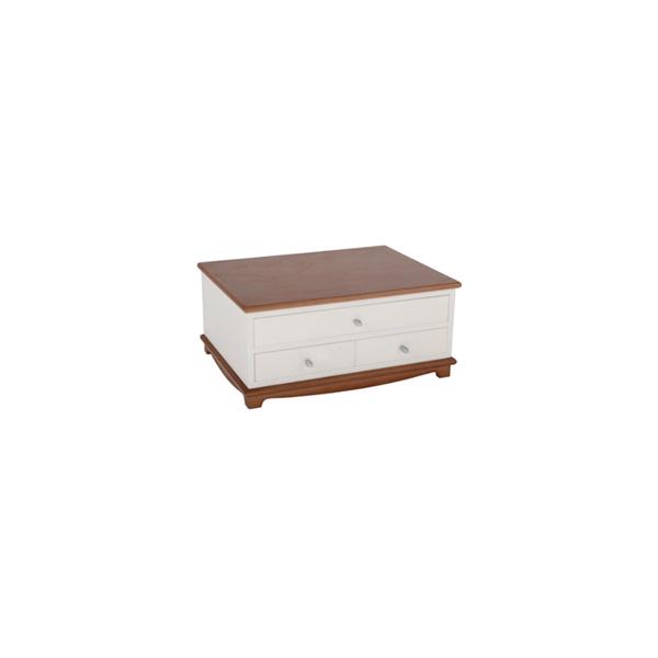 實木桌面收納盒