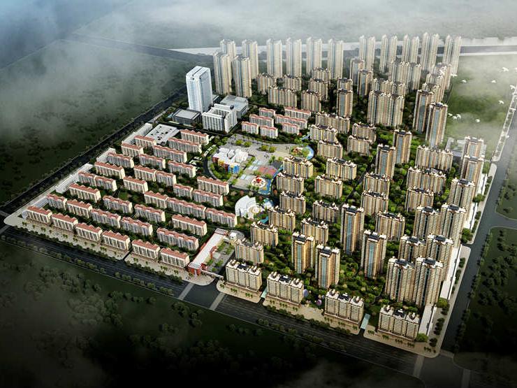 长庆湖滨花园二期工程