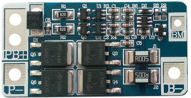 電動玩具鋰電保護板