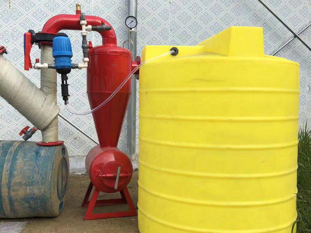 比例注肥器+施肥桶