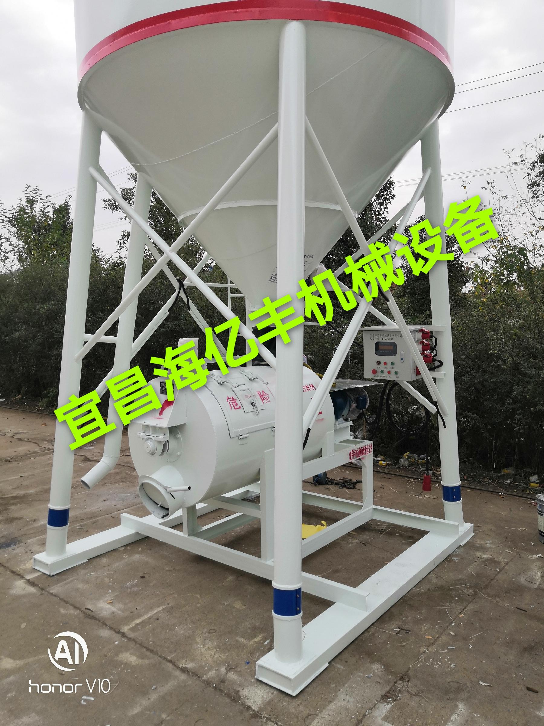 XHF-1200臥式強制式攪拌機