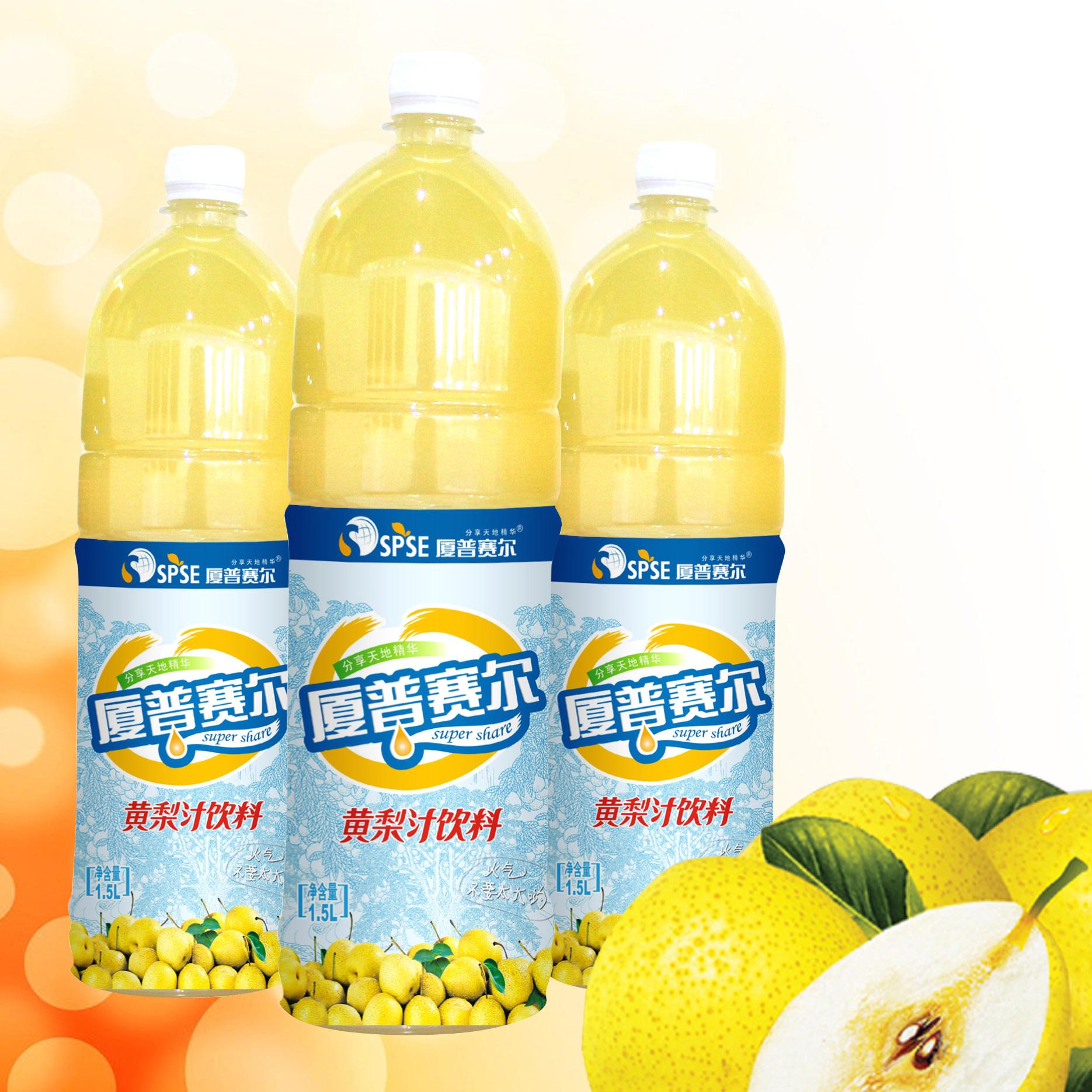 1.5L黄梨汁饮料