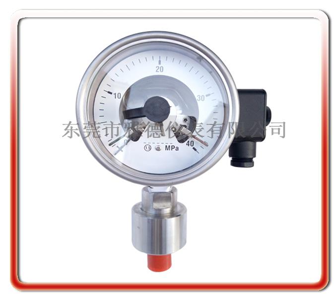 100MM徑向進口款全鋼電接點壓力表