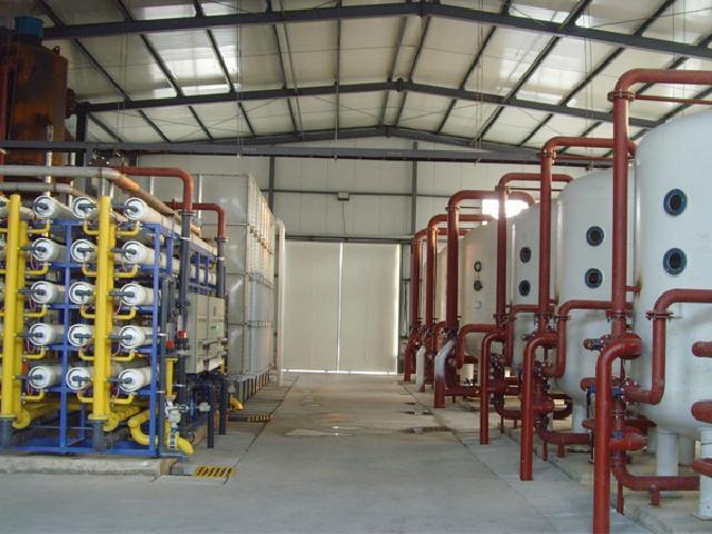 龍躍橡膠工藝循環水純水處理