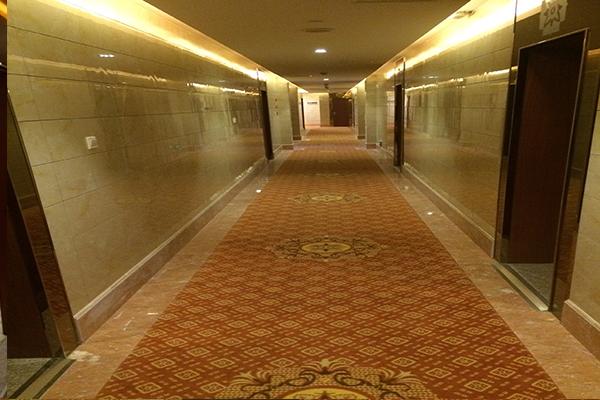 國網湖北省電力公司管培中心部分客房走道