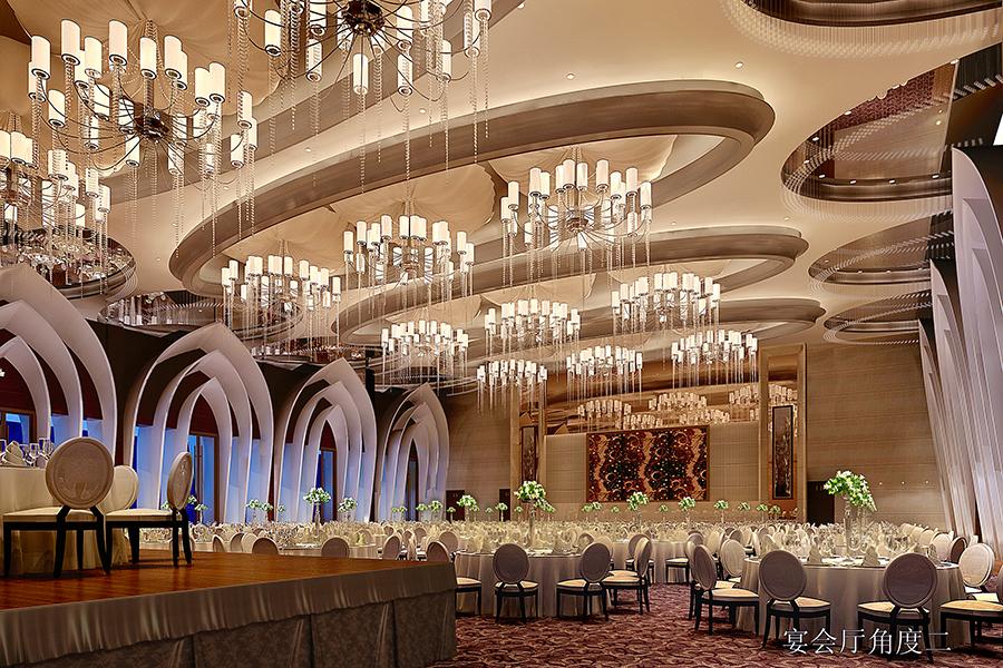 青島嶺海溫泉大酒店宴會廳