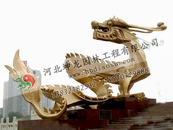 動物銅雕022