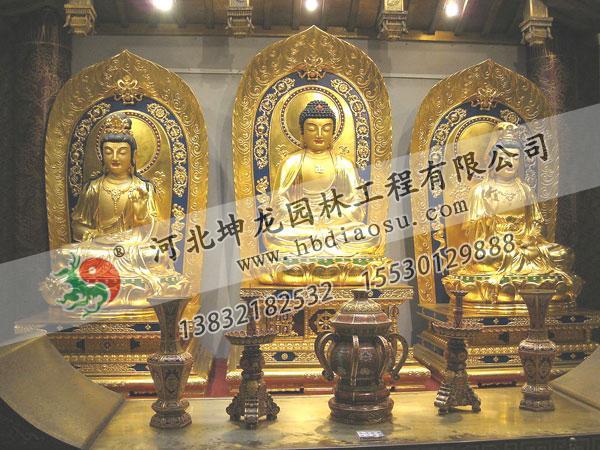 佛像銅雕004