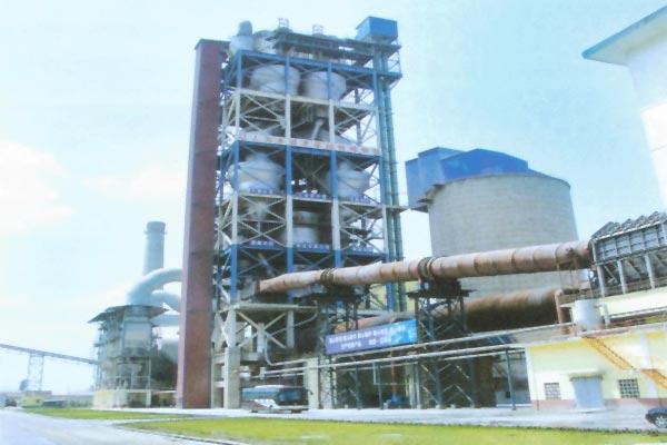 1000T/D水泥生產線工藝設備