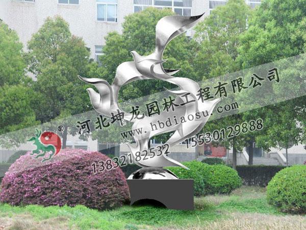 動物不銹鋼雕塑037